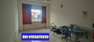 Apartment Sri Kejora U5 Shah Alam For Sale. 1st Floor with 2 lot prkg