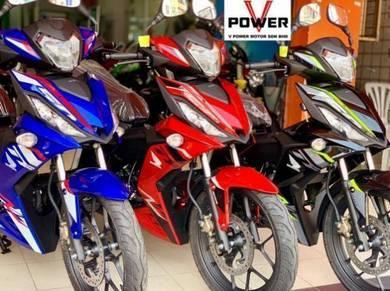 Honda RS150 Muka Termurah / Zero Deposit
