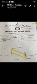 Beaufort - Kg Mantulud - Sabah. 2.9 acres NT for SALE