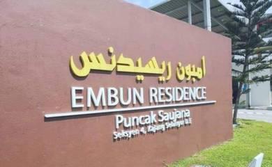 (corner lot) (ground floor) embun residence, kajang