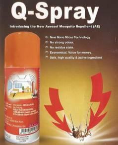 Q-Spray Mosquito Repellent (50g/83ml)