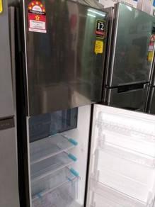 SHARP SJ-286M 2 Door Refrigerator 280L