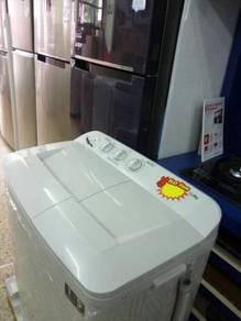 New 11.0kg Semi Auto Washing Machine BSW118XL