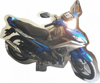 Yamaha 135lc 2017 low mileage below 5000km
