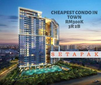 [NEW PROJECT, MURAH] Cheapest Condo in Setapak