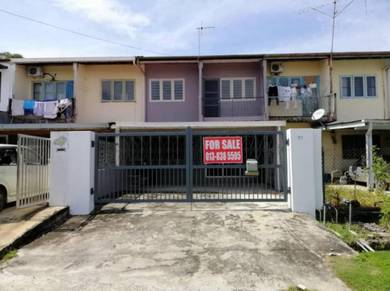 2-Storey Intermediate Terrace House at Hilltop Garden, Riam, Miri