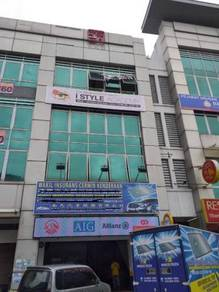 4 storey shop lot and office nearby lrt bandar puteri puchong