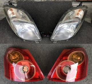 Lampu Depan Hid Tail Lamp Toyota Yaris Vitz NCP91