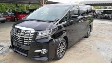 SIAP TAX Toyota ALPHARD 2.5 SC Unreg 2017