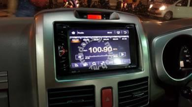 Universal Full HD 2 din car DVD Player 6.2inch
