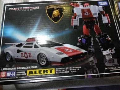 Transformers MP 14 Red Alert (BIB Complete)