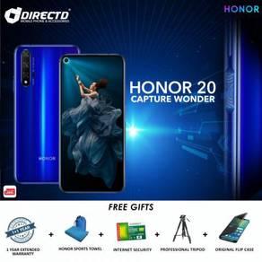 HONOR 20 (6GB RAM | 128GB ROM)MYSet + 5 Hadiah