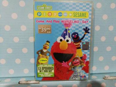 DVD Sesame Street - Play With Me Sesame 2DVD