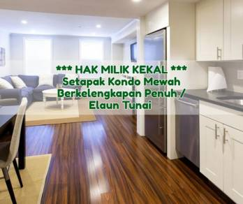 [0 Down Payment & Cash Back] New Condo, Setapak [KL Traders Square]