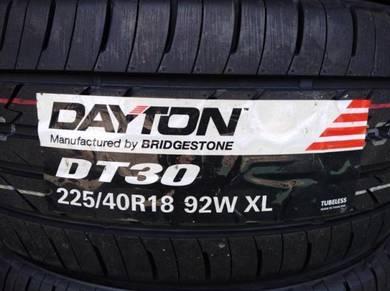 225/40/18 Dayton DT30 Tyre Bridgestone 2019 Tayar