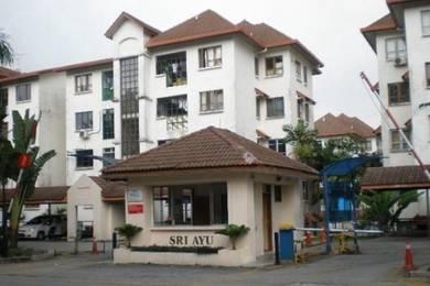 Sri Ayu Apartment Near Giant, AU2 Aeon Mall, St Rosyam Hypermart