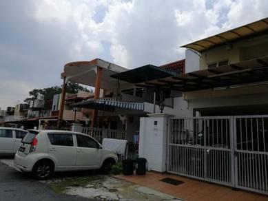 (FULL LOAN) Taman Bukit Teratai Ground flr Townhouse Full Extend 4roms