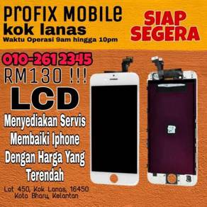 Repair lcd dan battery iphone siap segera bossku