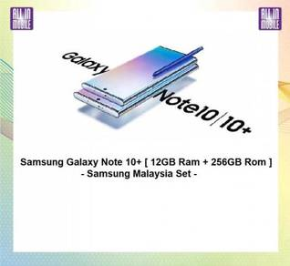 Samsung Galaxy Note 10+ 256GB 24 Bulan Aeon Credit