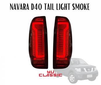 Nissan navara d40 tail lamp smoke