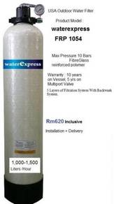 Outdoor WaterFilter waterexpress FRP1054 USA