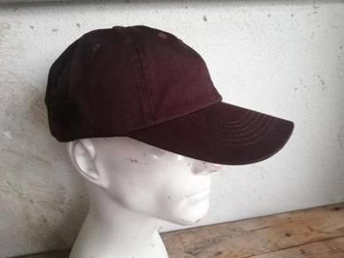 Cotton Baseball Cap Hat Solid Colour