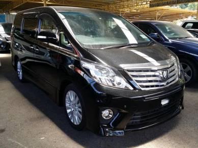 2014 Toyota ALPHARD 2.4 240S C PACKAGE FACELIFT