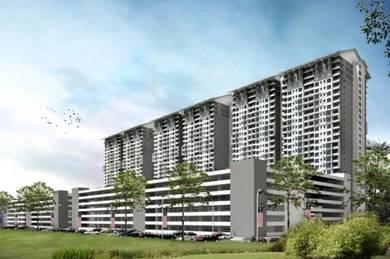 NEW CONDO FREEHOLD FREE MOT 900 sf 3R2B Booking RM500 Aspire Residence