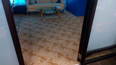 Carpet karpet tile roll Y67 for office kedai rumah