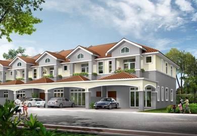 Double Storey Terrace House, Jalan Gangsa