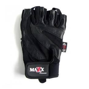 Maxx Workout Training Gloves (Black) sarung tangan