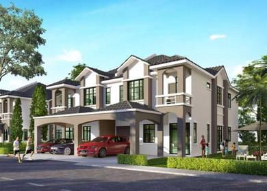 Double Storey Semi-D, Tmn Utama, Jalan Gangsa