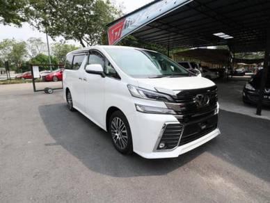 2016 Toyota VELLFIRE 2.5 Z G EDITION -ALPINE SOUND