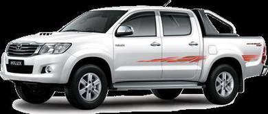 2016 Toyota Hilux 2.5 (A)