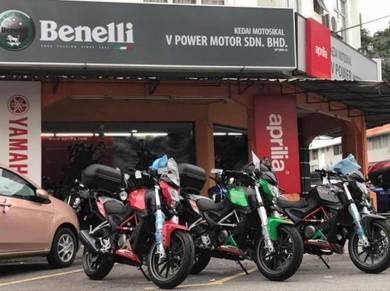 Benelli 250 TNT25 (Showroom Bike) Free Apply