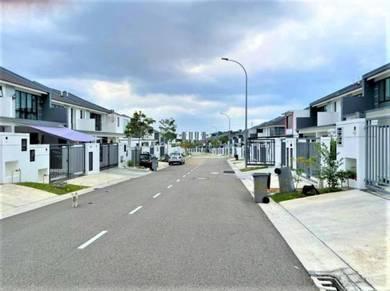 Double Storey Terrace House Austin Duta