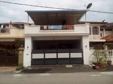 2-storey terrace house for sale Taman Inderawasih