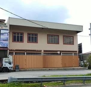 Rahang JKR warehouse shop lot for rent