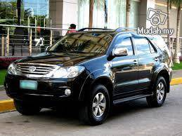 Toyota Fortuner Tip Top Condition in KK for Hire