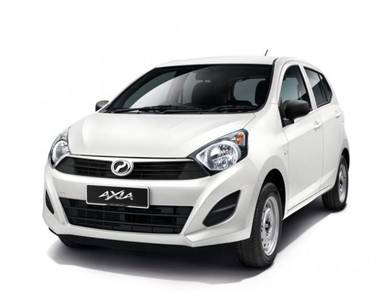 Budget Mini Car AXIA/ MYVI in KK for Hire