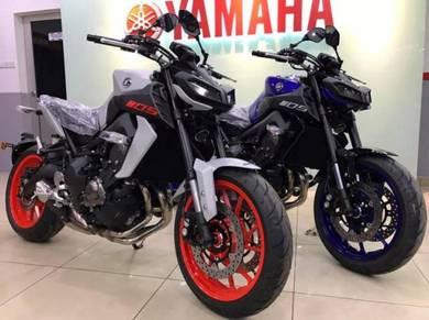 Yamaha MT-09 Abs MT09 ~ Exhaust ~ Windshield