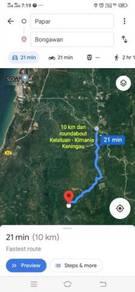 Ulu Kimanis Bogowan - Papar land CL Title 12.69 Acres