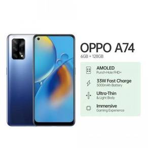 OPPO A74 {6GB/128GB} 33W Fast Charge