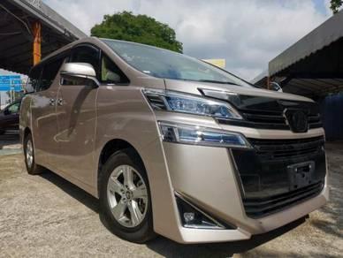 LELONG EMCO 2019 Toyota VELLFIRE 2.5 (Grade 4.5 A)