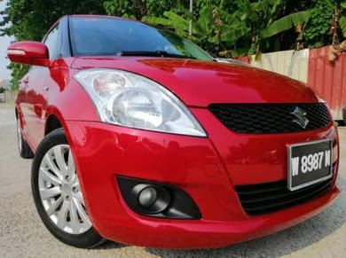2014 Suzuki SWIFT 1.4L (A)*FULL SERVICE RECORD