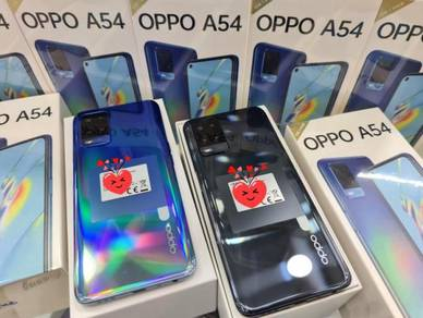 OPPO A54 {4GB+128GB}IPX4 Water Resistant