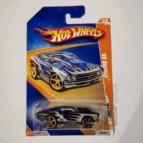 Hot Wheels 69 Chevelle #trackstar 062/190