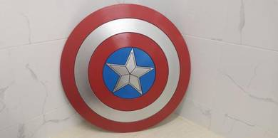 [Ready Stock] Captain America Shield 1:1 scale ABS
