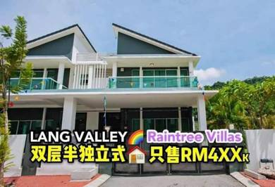 New Double Storey Semi D at Lang Valley Ipoh