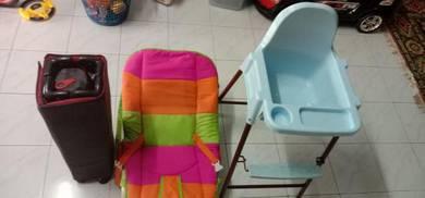 Barangan baby, baby cot, baby carrier